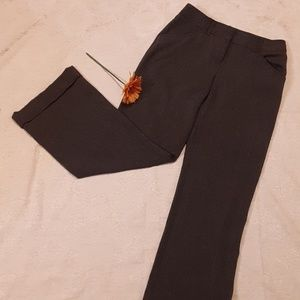 Dark grey and brown pants by Fashion Bug